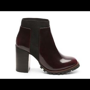Steve Madden Oxblood Heeled Boot